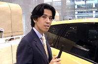 【Movie】三菱「グランディス」の発表会場から(その2)
