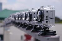 撮影システムは86台の広角レンズカメラで構成される。