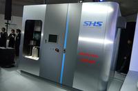 ホンダが岩谷産業と共同開発したスマート水素ステーション。