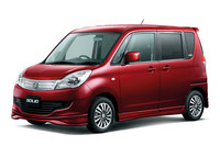 三菱自動車にOEM供給される「スズキ・ソリオ」。
