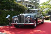 会場となった英国大使館には、コーンズによるベントレー国内販売開始50周年を記念し、「S3サルーン」も展示されていた。