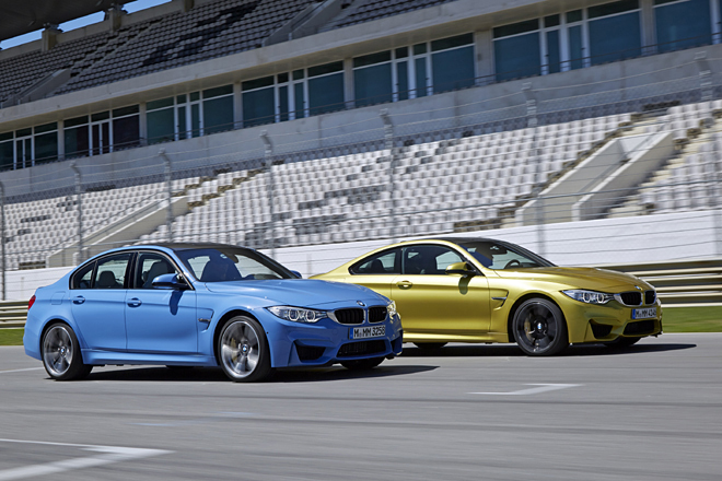 BMW M3セダン(FR/7AT)/M4クーペ(FR/7AT)【海外試乗記】