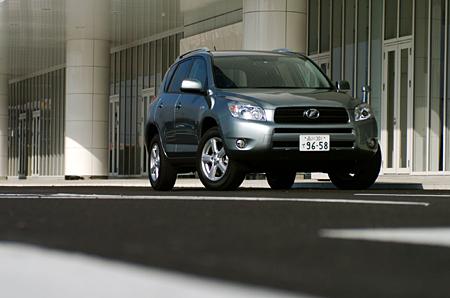 トヨタRAV4 G(4WD/CVT)【ブリーフテスト】
