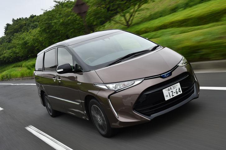 トヨタ・エスティマハイブリッド(4WD/CVT)/エスティマ(FF/CVT)【試乗記】