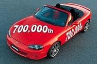 マツダ「ロードスター」、生産累計70万台を達成!の画像