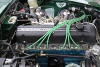 上写真で紹介した1971年型「240Z」の、美しいフルレストア済みエンジン。