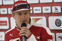 来季もフェラーリに残ることが決まったキミ・ライコネン(写真)は単独走行で5位入賞。ギアボックス交換で11番グリッドからスタートしたセバスチャン・ベッテルは9位完走。フェラーリは予選、決勝ともレッドブルの後塵を拝した。(Photo=Ferrari)