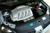 エンジン単体はノーマルと変わらず。