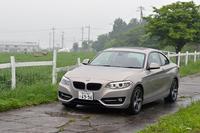 BMW 220iクーペ スポーツ(FR/8AT)【試乗記】の画像