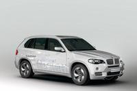 BMW、X5のディーゼルハイブリッドを出展【ジュネーブショー08】