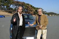 なぜか知らねど、三國連太郎様と記念撮影をしてしまいました。オーラあったぜ! オラオラー〜!?