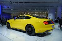 2013年12月に実車が公開された新型「フォード・マスタング」については、今回は目新しい発表はなされなかった。