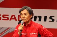 SUPER GTで日産系チームをまとめる柿元邦彦総監督。来年から車両規定が変わることを見据えた上で、今季のチーム体制を構築したという。