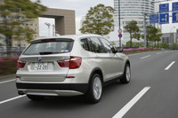 BMW X3 xDrive35i(4WD/8AT)【ブリーフテスト】の画像