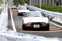 同乗試乗は、メガウェブ内に設けられた1.3kmの試乗コースを使って行われた。