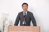 ヤナセヴィークルワールドの横山敏郎社長。