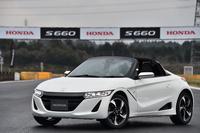 軽規格のオープンスポーツモデルである「ホンダS660」。