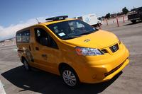 こちらは2013年10月からニューヨークで本格的に走りだす「NV200ニューヨークタクシー」。イエローキャブが日産車になるということで、発表時には日本でも話題になった記憶が。