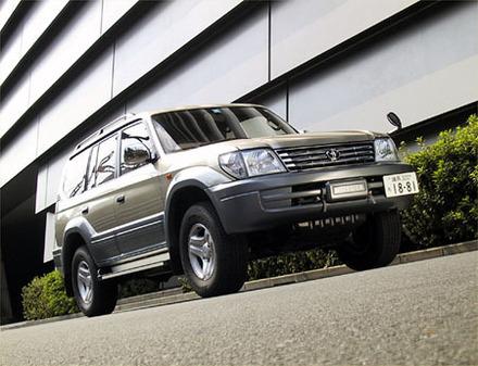 トヨタ・ランドクルーザープラド TZ5ドア(4AT)【ブリーフテスト】