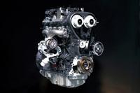 「トレンド」に搭載される1.5リッター直4直噴ターボエンジンの「1.5L EcoBoost」。