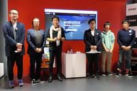 企画「MOBIVERSE ~未来のモビリティの可能性~」に参加した、多摩美術大学のメンバー。