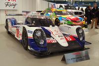 世界耐久選手権やNASCARのマシンも会場に並べられた。