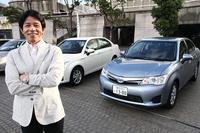 「トヨタ・カローラ」の開発を担当した中村 寛(ひろし)さん。仕事はもちろん、ゴルフの方も「ハンディキャップ3」と、まさに黒帯級のウデの持ち主なのだ。