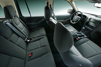 「フォード・エクスプローラー XLT ADVENTURE AMERICA」の内装