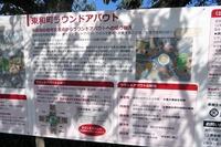 信号交差点だった場所をラウンドアバウトに改修した全国で最初の地点である東和町。