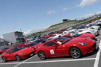 年に一度のフェラーリの祭典、鈴鹿で開催