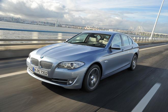 BMWアクティブハイブリッド5(FR/8AT)【海外試乗記】