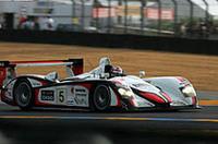 今年こそ優勝と意気込むチームゴウのNo.5アウディR8は4位