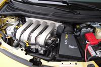自然吸気の1.6リッター直4エンジン。134ps、16.3kgmを発生する。