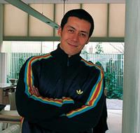 トークゲストとして自転車も大好きな桐島ローランドさんも参加。