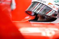 定位置の3番グリッドから3位を維持していたフェラーリのセバスチャン・ベッテル。しかしピットストップ中にタイヤがうまくはまらずタイムロス、ウィリアムズのマッサに3位の座を奪われてしまった。終盤猛追するもかなわず0.6秒差で4位。(Photo=Ferrari)