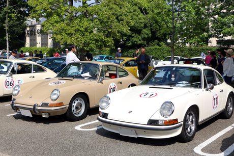 ポルシェのスポーツカー誕生70周年を祝うラリーイベント「The Rally -Amazing Moment-」が開催された。東京...