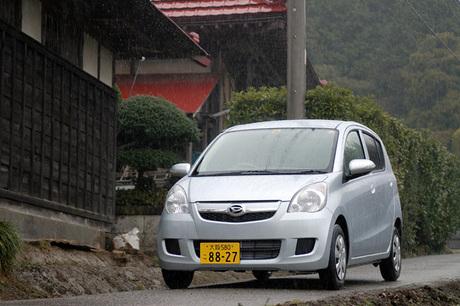 """ダイハツ・ミラ Xリミテッド """"SMART DRIVE Package""""(FF/CVT)/ミラカスタムX(FF/CVT)……113万4000円..."""