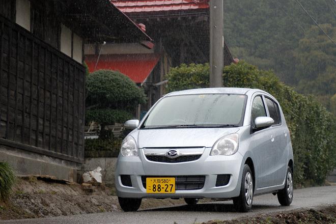 """ダイハツ・ミラ Xリミテッド """"SMART DRIVE Package""""(FF/CVT)/ミラカスタムX(FF/CVT)【試乗記】"""