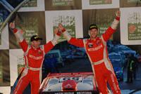 PWRC初参戦にして初優勝を獲得した、ガイ・ウィルクス組。