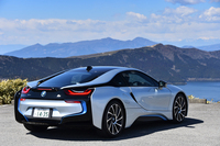 BMW i8(4WD/6AT)【試乗記】の画像