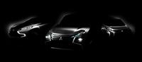 2013年の東京モーターショーに出展予定の、三菱の3台のコンセプトカー。