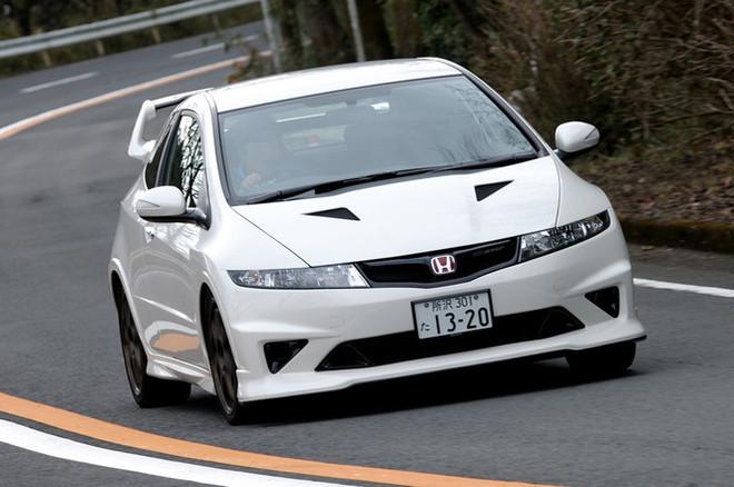 ホンダ・無限シビック タイプR ユーロ(FF/6MT)【試乗記】