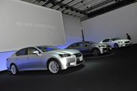 レクサスブースは新型「GS」一色に【東京モーターショー2011】の画像
