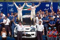 波乱のWRCメキシコを、フォードが1-2で制す!【WRC 04】の画像