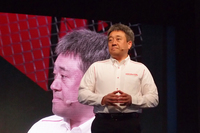 山本雅史 モータースポーツ部部長(写真)は、厳しい表情で2018年シーズンへの意気込みを語った。