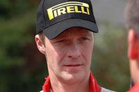 三菱WRC活動をエースドライバーとして引っ張るハリ・ロバンペッラ。(写真=廣本泉)