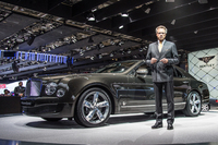 2014年のパリショーで発表された「ミュルザンヌ スピード」。エンジンの最高出力を537psに高めた、「ミュルザンヌ」の高性能バージョンである。
