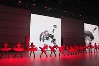 アウディブランドの発表でダンスが披露された。