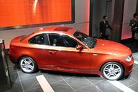コンパクトFR「BMW 1シリーズクーペ」が日本デビューの画像