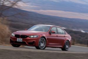 BMW M3セダン コンペティション(FR/7AT)【試乗記】